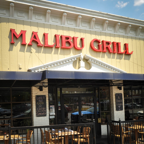 commercial flooring in Bloomington - Malibu Grill
